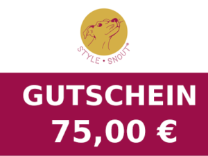 Gutschein im Wert von 75,00 €